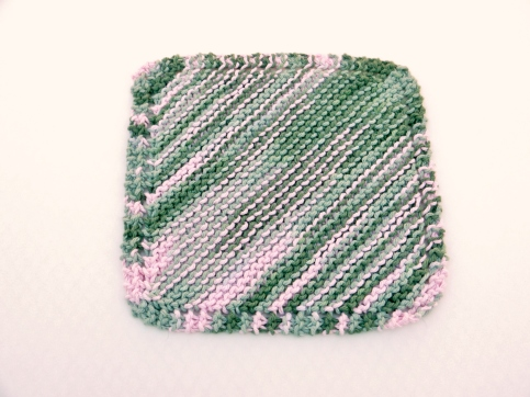 knitted-dishcloth