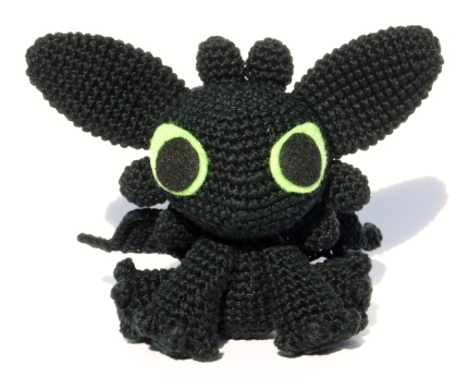 Amigurumi Toothless