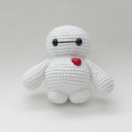 Crocheted Tiny Baymax