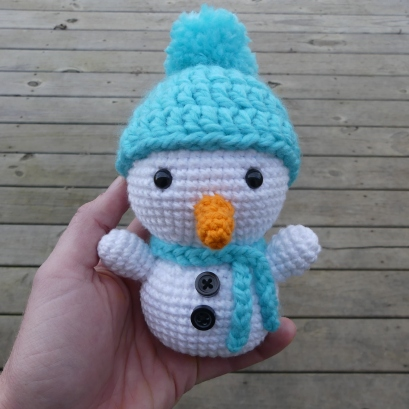 Amigurumi Snowman (1)